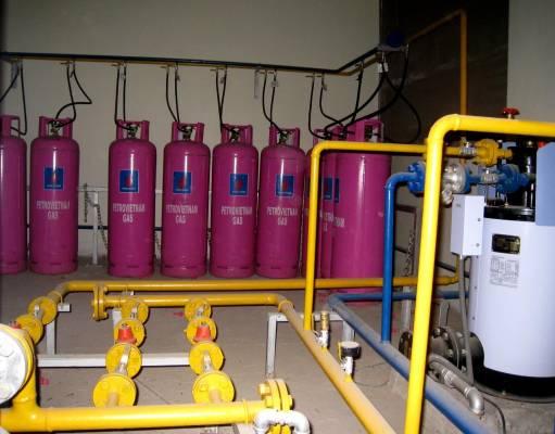 Hóa hơi gas sử dụng máy cưỡng bức