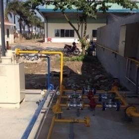 Hệ thống máy hóa đơn và đường ống dẫn
