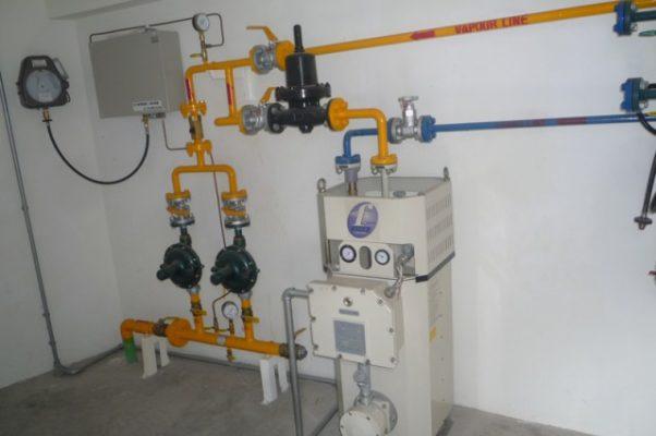 Tháo hệ thống gas trung tâm