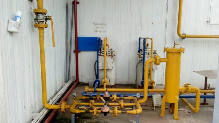 Tháo dỡ hệ thống gas