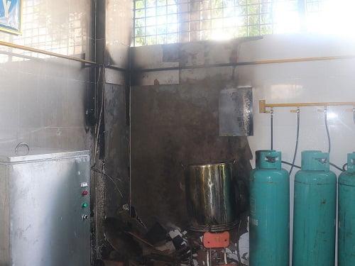 Cháy nổ gas công nghiệp