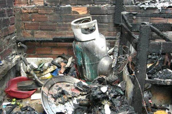 Cháy nổ gas trong gia đình
