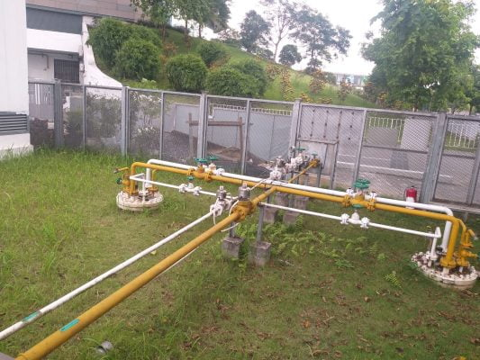 lắp đặt bồn gas chìm