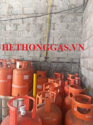 Lắp đặt hệ thống cấp gas