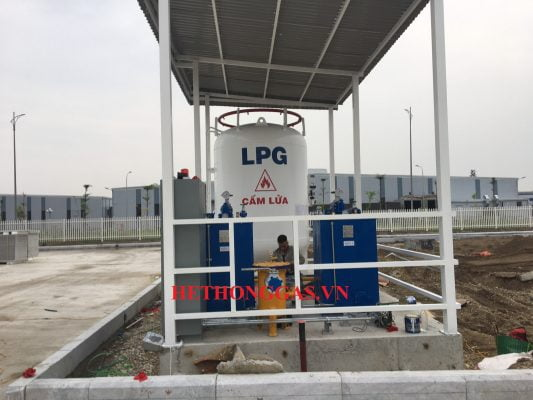 Trạm cấp gas 3 tấn