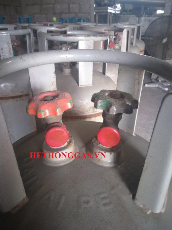 Van bình gas loại rút lỏng