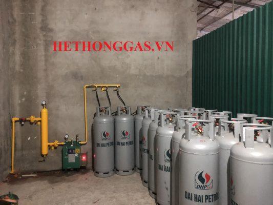 Máy hoá hơi gas công suất 30kg/h