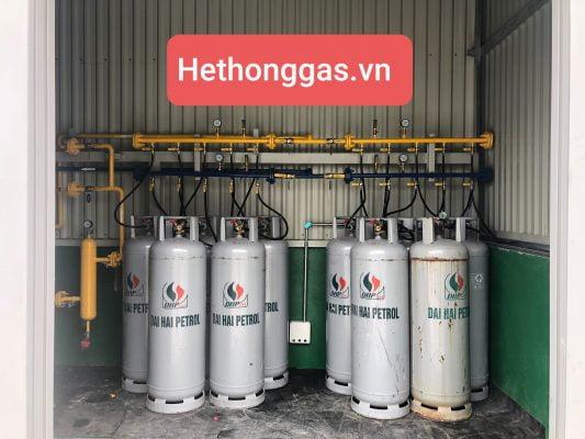 Loại bình gas có van kép rút lỏng