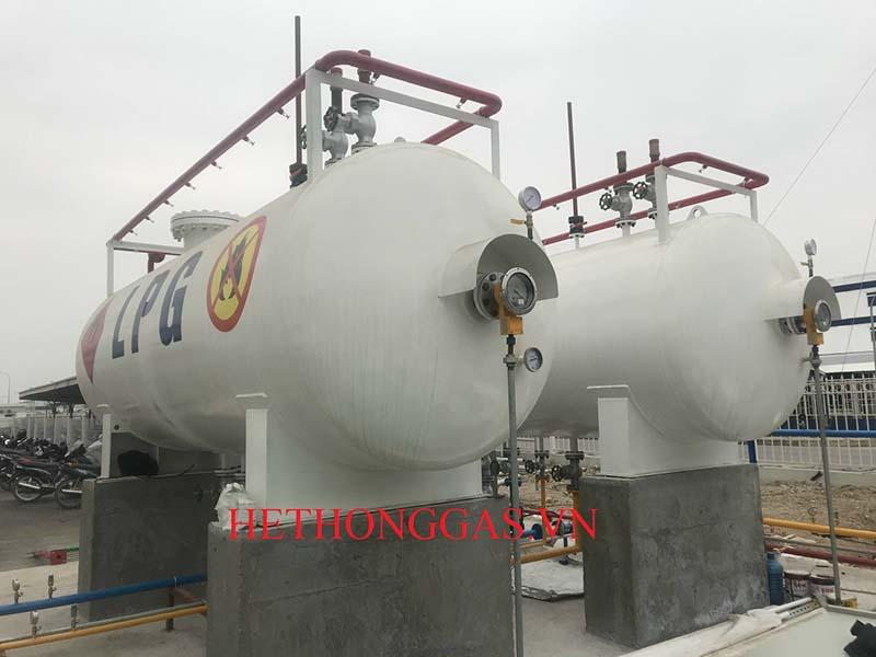 Nhu cầu sử dụng hệ thống gas công nghiệp